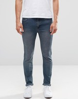 Cheap Monday Tight Skinny Jeans Blue Graphite