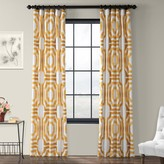 Eff EFF 1-Panel Mecca Lined Window Curtain