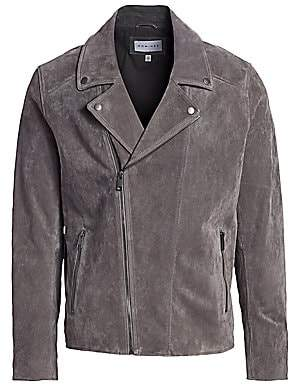 Nominee Men's Leather Moto Jacket