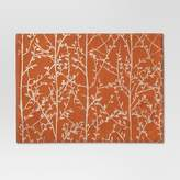 Threshold Branches Placemat - Orange