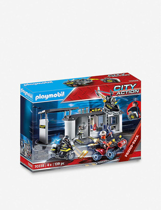 Playmobil City Action Take Along Tactical Unit Headquarters limited edition playset
