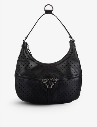 Resellfridges Pre-loved Gucci Reins leather hobo bag