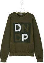Dondup Kids teen printed sweatshirt