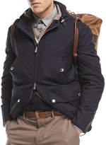Brunello Cucinelli Technical Wool Utility Jacket