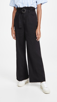 Boyish The Clancy Paperbag Pleated Jeans