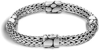 John Hardy Sterling Silver Kali Four Station Bracelet