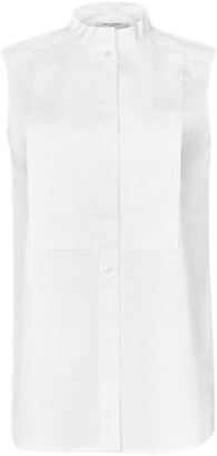 Equipment Beale Sleeveless Cotton Shirt