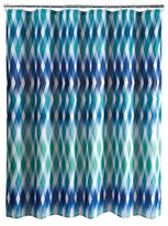 Nobrand No Brand Relativity Shower Curtain - Blue