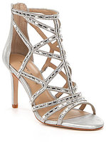 Antonio Melani Faina Jeweled Strappy Dress Sandals