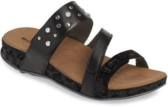 Romika Firschi 62 Studded Strap Slide Sandal