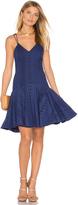 Aijek Janet Broderie Cross Back Dress