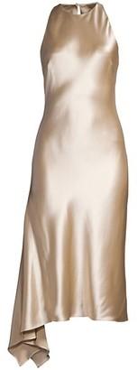 Mestiza New York Alana Bias Satin Cocktail Dress