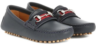 Gucci Kids Leather loafers