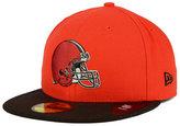 New Era Cleveland Browns Draft Redo 59FIFTY Cap