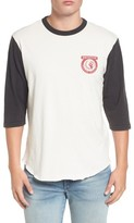 Brixton Men's Washed Baseball T-Shirt