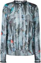 Markus Lupfer bird print blouse - women - Polyester - M