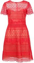 Marchesa embroidered dress - women - Polyester - 0