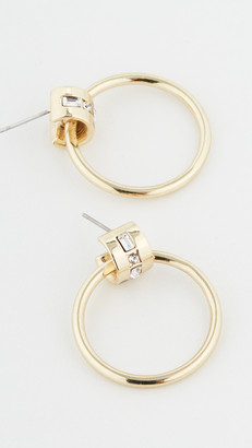 Luv Aj The Mosaic Crystal Hoops