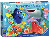 Disney Finding Dory 4 Shaped Puzzles.