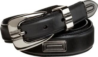 "Alexander Julian Men's 1 1/4"" Tapered Concho Belt"