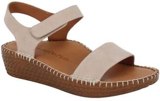 L'Amour des Pieds Leather Adjustable Sport Sandals - Yanis