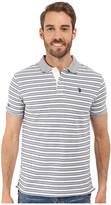 U.S. Polo Assn. Slim Fit Micro Shadow Stripe Polo Shirt