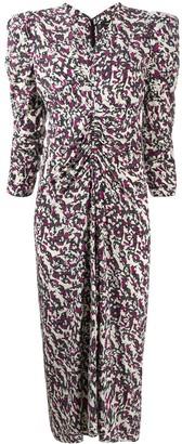 Isabel Marant Abstract Print Dress