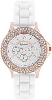 Style&Co. Watch, Women's White Silicone Strap 38mm SC1385