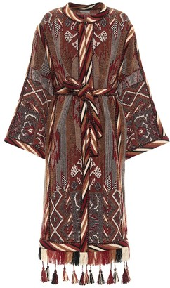 Etro Exclusive to Mytheresa Wool-blend jacquard coat