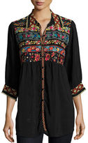 Johnny Was Artisan Embroidered Tunic, Petite