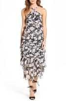 Olivia Palermo + Chelsea28 Women's Tiered Midi Dress
