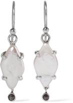 Chan Luu Silver Pearl Earrings