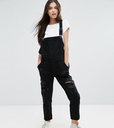 Kubban Petite Distressed Dungarees