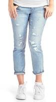 Gap Full panel destructed best girlfriend jeans