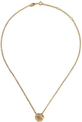 Aurélie Bidermann 18kt Yellow Gold Topaz Bouquet Pendant Necklace