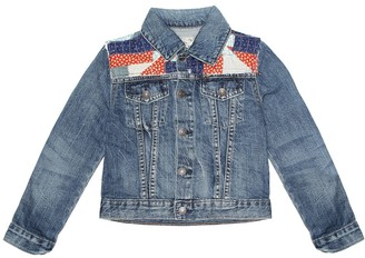 Polo Ralph Lauren Kids Patchwork denim jacket