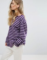 Weekday Striped Skater T-Shirt
