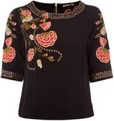 Biba Embroidered and embellished blouse