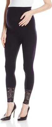 Lamaze Women's Lace Bottom Legging