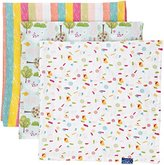 In the Night Garden Baby-Girls Itng Muslin Set of 3 Scarf