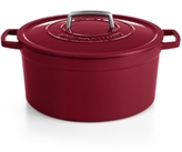 Martha Stewart Collection Collection Collector's Enameled Cast Iron 8 Qt. Round Casserole, Created for Macy's