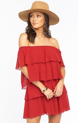 Show Me Your Mumu Quatro Ruffle Dress