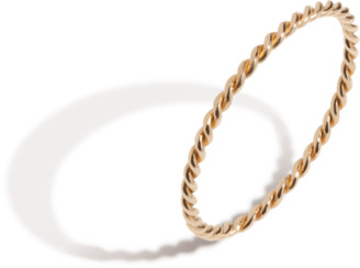 AUrate New York Stackable Twist Ring