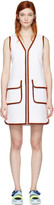 Emilio Pucci White Zip Dress