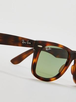 Ray-Ban Wayfarer Havana Tinted Lens Sunglasses