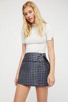 Free People All The Shine Mini Skirt