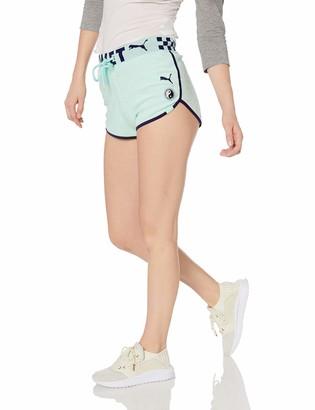 Puma Women's Fenty Terry Cloth Dolphin Shorts