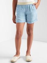 TENCEL pull-on shorts