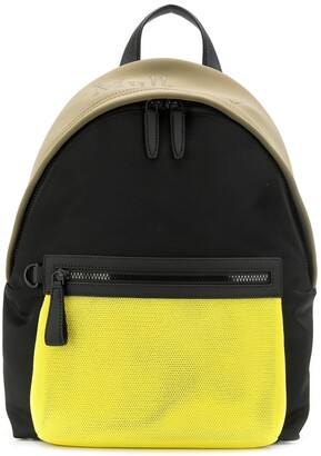 Mulberry Mesh panel backpack