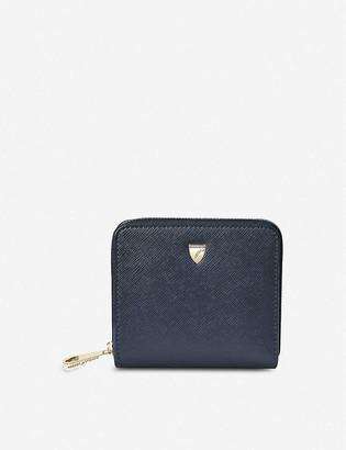 Aspinal of London Continental Mini leather purse